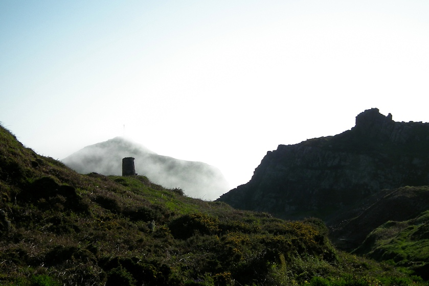 Cape Cornwall as seen from the Nancherrow valley